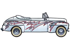 Grease Car Clipart